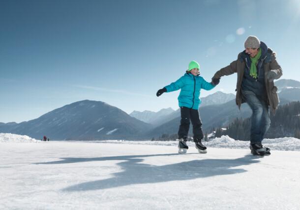 Zimska bajka na ledu, Weissensee