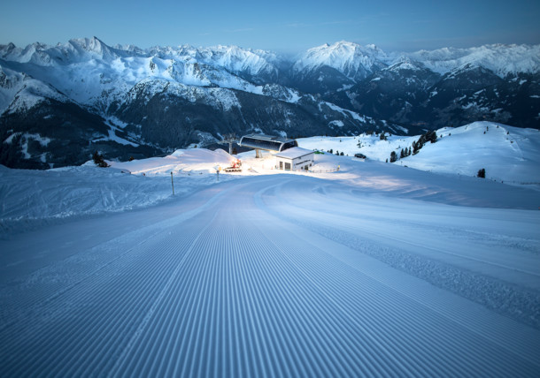 Winterpanorama, Zillertal Arena