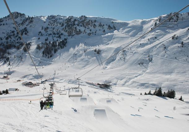 Skidområdet Mayrhofen