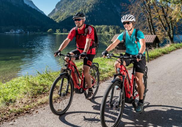 Mountainbiketour um den Hallstättersee