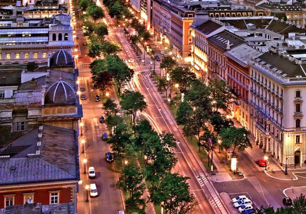 """La avenida """"Ringstraße"""" en Viena"""