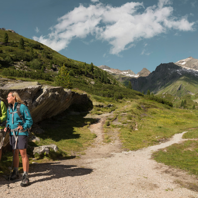 Sommer in den Tiroler Bergen