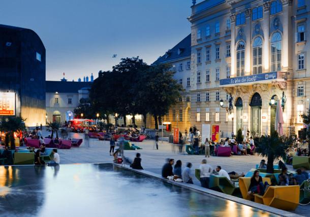 Museumquartier in Wenen