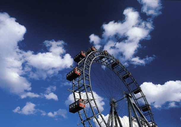 Riesenrad - the Giant Ferris Wheel in Vienna