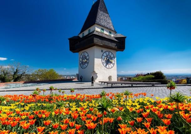 Clock tower, Graz