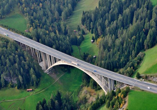 Highway in Innsbruck