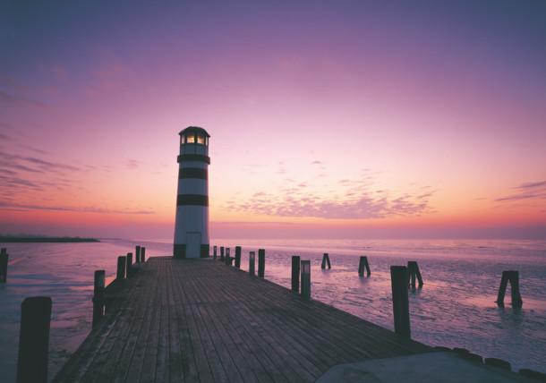 Leuchtturm am Neusiedler See