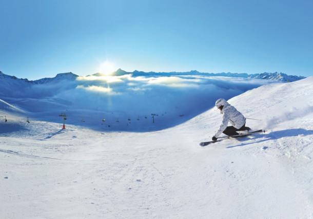 Skiing near Heiligenblut / Carinthia