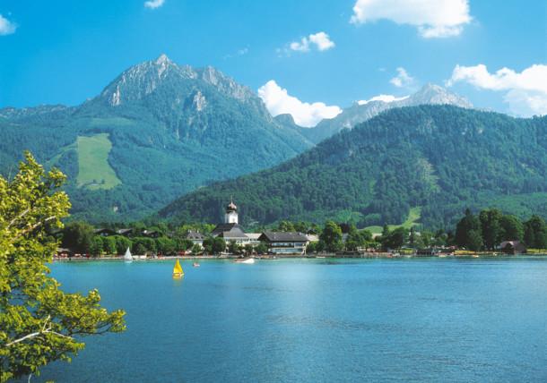 Strobl am Wolfgangsee Lake Wolfgangsee   Salzkammergut