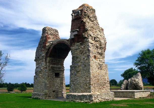 Heathen's Gate in Carnuntum, Lower Austria