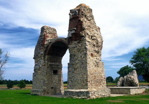 Heathen's Gate in Carnuntum, Lower Austria