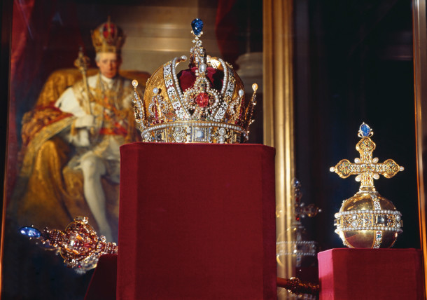 Rudolf's Crown at the Imperial Treasury in Vienna