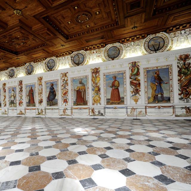 Schloss Ambras in Innsbruck, Spanischer Saal