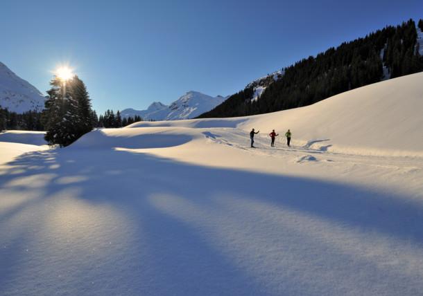 cross-country skiing Vorarlberg