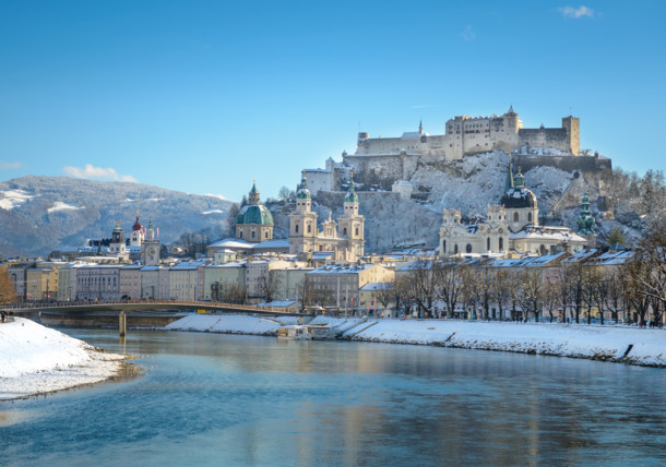 Salzburg City - View of the Hohensalzburg Fortress