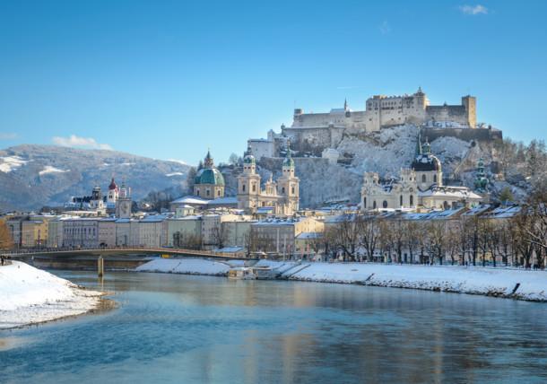 Salzburg City - View of the Hohensalzburg Fortress