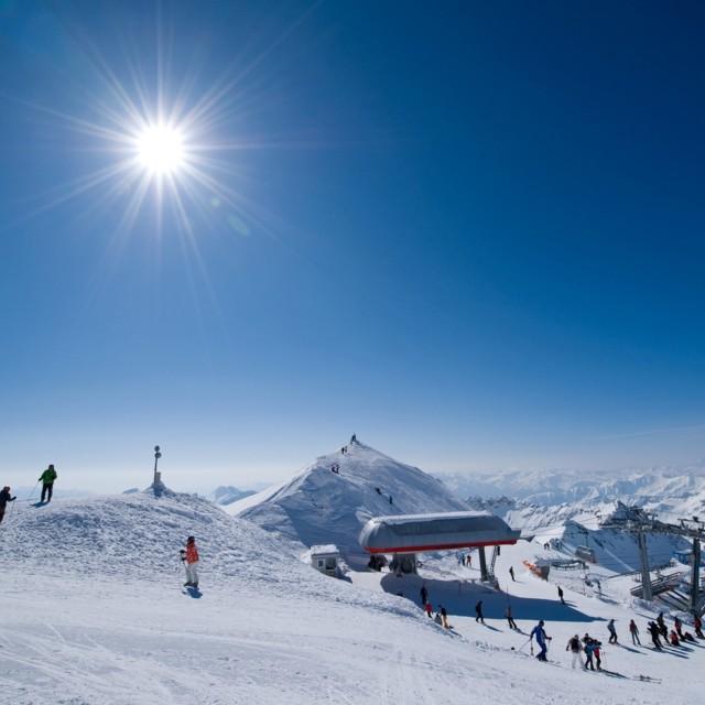 Bergstation Mölltaler Gletscher