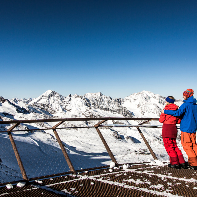 Aussichtsplattform Stubaier Gletscher