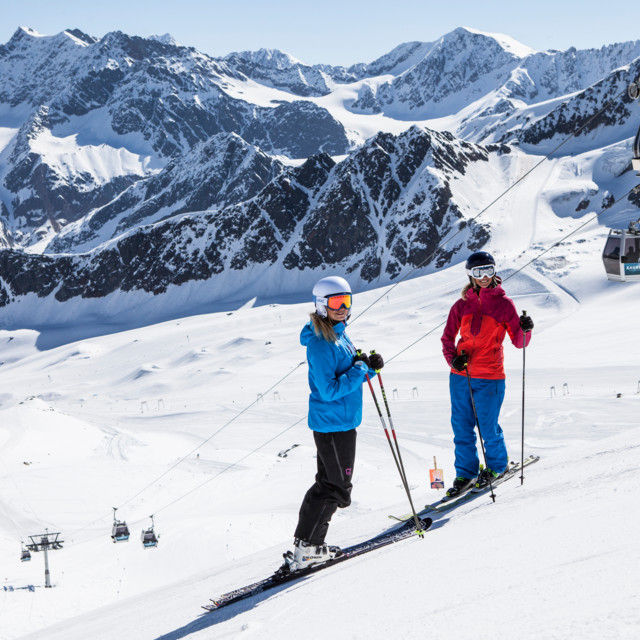 Skifahren - Skigebiet Kaunertaler Gletscher, Tirol