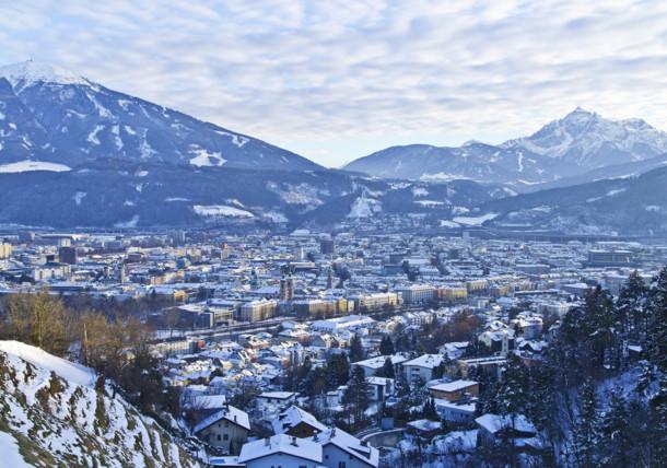 Innsbruck Panorama Winter