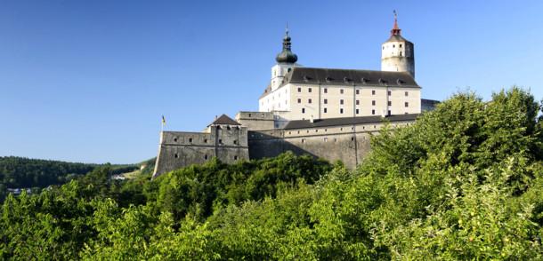 Burg Forchtenstein bei Mattersburg im Burgenland