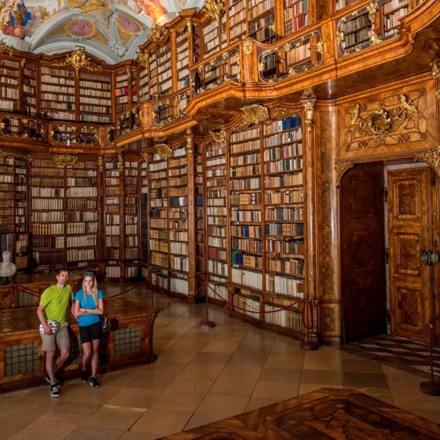 Stiftsbibliothek St. Florian in Oberösterreich