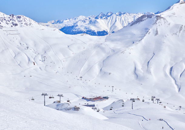 Serfaus ski area