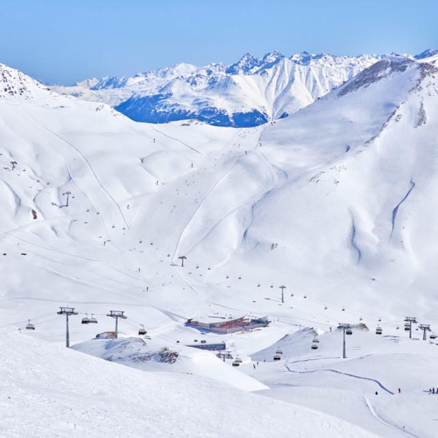 Skigebiet Serfaus