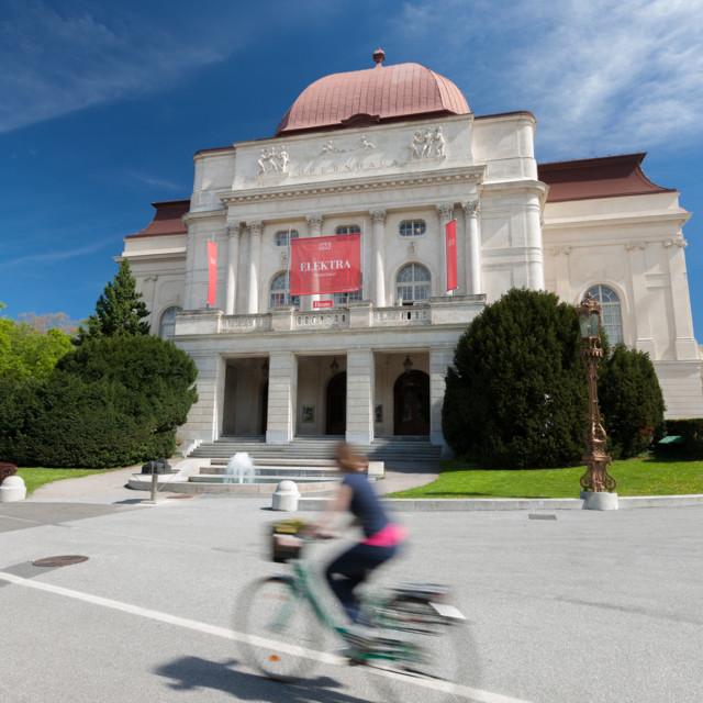 Das Opernhaus in Graz.