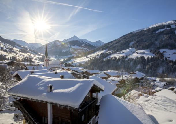 Alpbach Village Winter