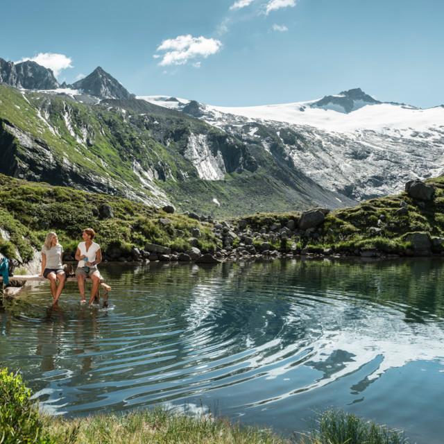 Bergsee bei Berlinerhütte, Tirol