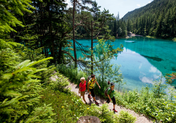 The Green Lake in Styria