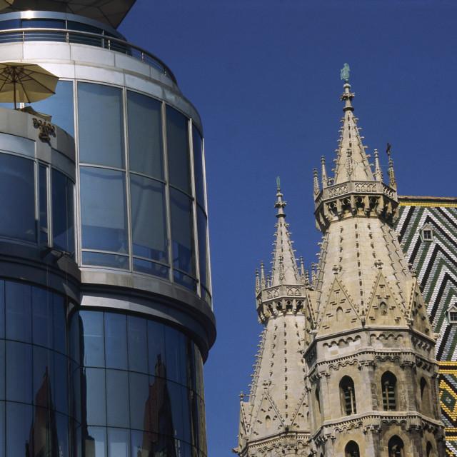 Haas Haus und Stephansdom, Wien