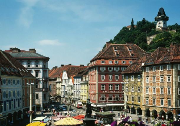 Graz, stare miasto