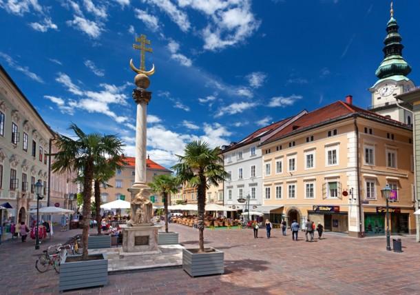 Discover the city of Klagenfurt Austria