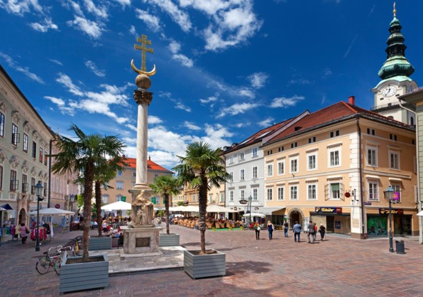 Discover the city of Klagenfurt Austria