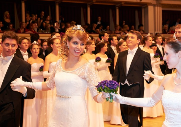 Opening Ceremony of the Opera Ball in Vienna