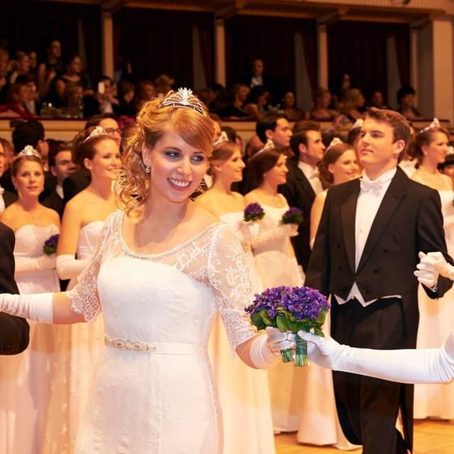 Eroeffnung des Opernball in Wien