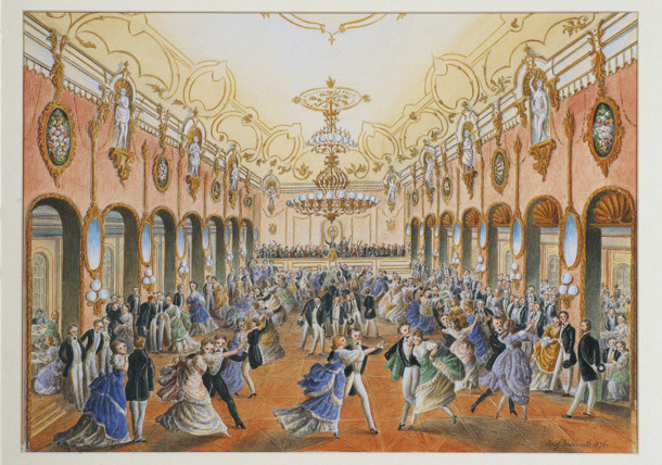 Wiener Ball Strauss Area