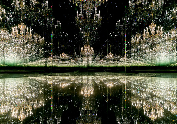 Swarovski Kristallwelten in Wattens, Wunderkammer, Yayoi Kusama