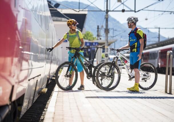Gästekarte ist Fahrkarte! Brixental Radweg oder Wilder Kaiser Radweg