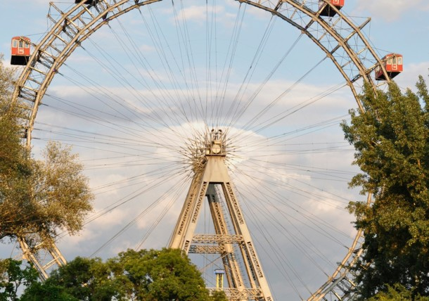 The Giant Ferris Wheel at the Prater