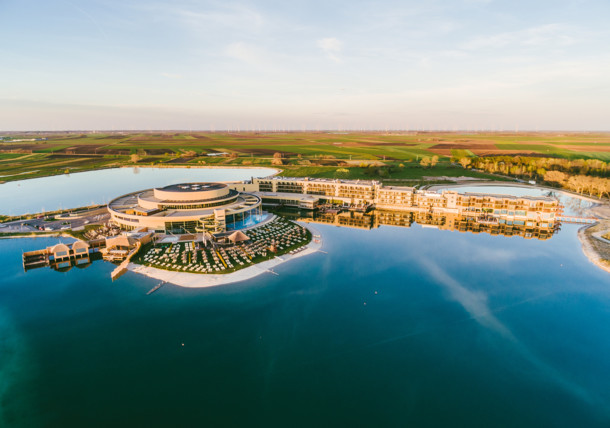 The St. Martins thermal Lodge in the Burgenland next to the nationalpark Neusiedlersee Seewinkel