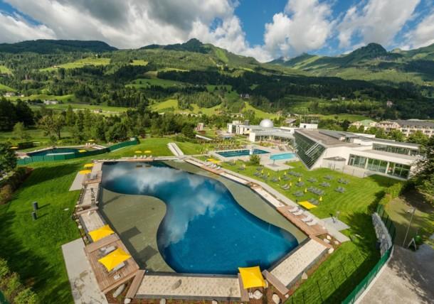 Alpentherme thermal spa Gastein
