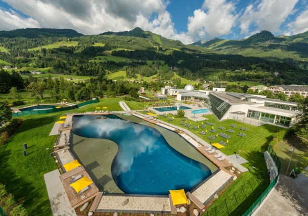 Alpentherme thermal spa Gastein