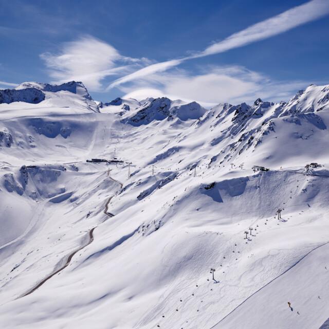 Sölden Gletscherskigebiet Rettenbachferner