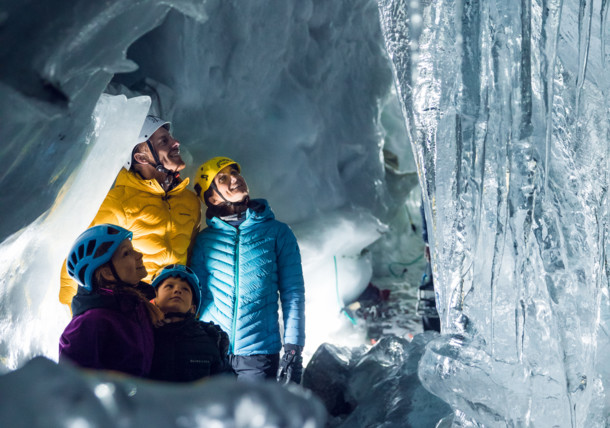 Natur Eis Palast im Zillertal