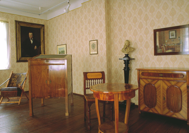 Memorial room of Johannes Brahms / Haydnhaus