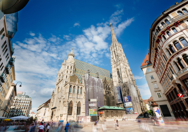 St. Steven's Cathedral in Vienna's city center