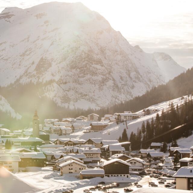 Winter in Lech am Arlberg
